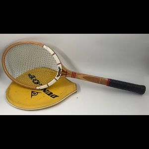 Dunlop Maxply Fort Tennis Racket & Yellow Cover